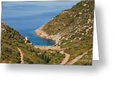 Gialia Beach Alonissos Greeting Card