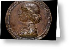 Gianfrancesco Enzola Italian, Active 1455-1478, Costanzo Greeting Card