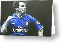 Gianfranco Zola - Chelsea Fc Greeting Card