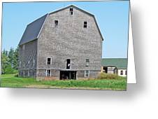 Giant Barn Greeting Card
