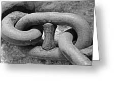 Giant Chain Greeting Card