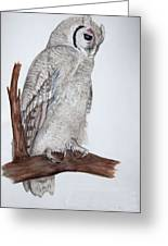 Giant Eagle Owl Greeting Card