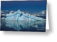 Giant Ice Floes Greeting Card