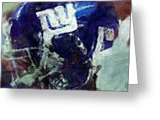 Giants Art Greeting Card