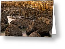 Giants Causeway, Antrim Coast, Northern Greeting Card