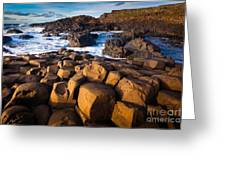 Giant's Causeway Surf Greeting Card