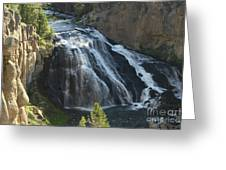 Gibbon Falls I Greeting Card