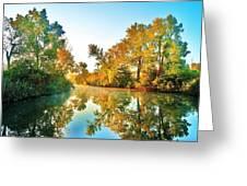 Gibralter Mi Waterway Greeting Card