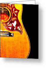 Gibson Hummingbird Greeting Card