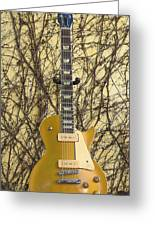 Gibson Les Paul Gold Top '56 Guitar Greeting Card