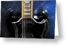 Gibson Sg Standard Zoom Greeting Card