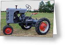 Gibson Tractor Greeting Card