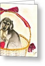 Gift Basket Greeting Card
