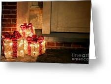 Gift Of Lights Greeting Card