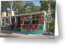 Gift Shop In Key West Greeting Card