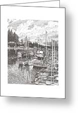 Gig Harbor Entrance Greeting Card