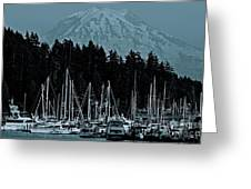 Gig Harbor  Washington  Greeting Card