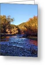 Gila River Gold Greeting Card