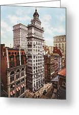 Gillender Building New York 1900 Greeting Card