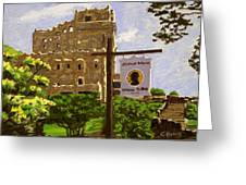 Gillette Castle East Haddam Connecticut Greeting Card