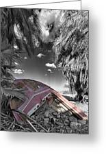 Gilligans Island Black And White 2 Greeting Card