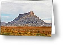 Gilson Peak Along The Colorado River Greeting Card