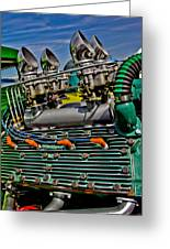 Gimme Fuel  Greeting Card by Merrick Imagery
