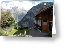 Gimmelwald Greeting Card