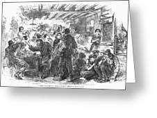 Gin Mill: London, 1861 Greeting Card