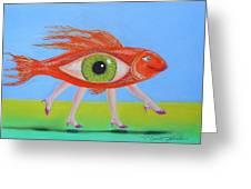 Ginger Fish Greeting Card