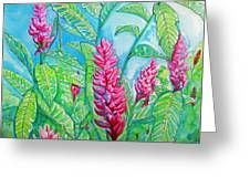 Ginger Jungle Greeting Card