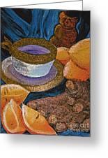 Ginger Lemon Tea 2 By Jrr Greeting Card