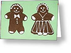 Ginger Pair Greeting Card