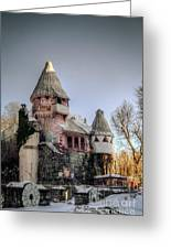 Gingerbread Castle Greeting Card