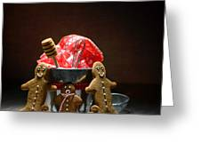 Gingerbread Family Greeting Card