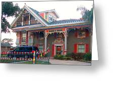 Gingerbread House - Metairie La Greeting Card