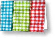 Gingham Greeting Card