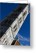 Giotto Fantastic Campanile - Florence Cathedral - Piazza Del Duomo - Italy Greeting Card