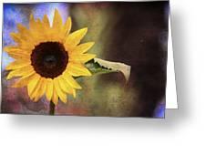 Girasole Greeting Card