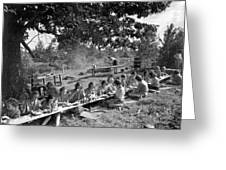 Girl Scout Picnic Greeting Card