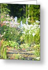 Giverny North Number Three Greeting Card
