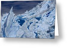 Glacial Blue Greeting Card