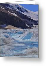 Glacial Meltwater 1 Greeting Card
