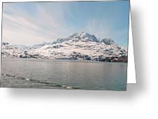 Glacial Sky Greeting Card
