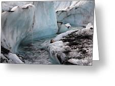 Glacial Waters Greeting Card