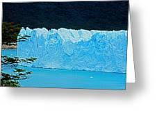 Glaciar Perito Moreno - Patagonia Greeting Card