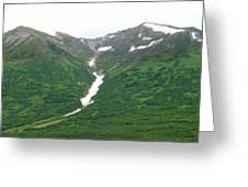 Glacier 14 Greeting Card