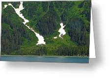 Glacier 16 Greeting Card