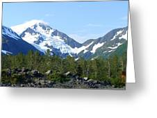 Glacier 4 Greeting Card