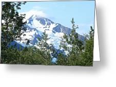 Glacier 5 Greeting Card